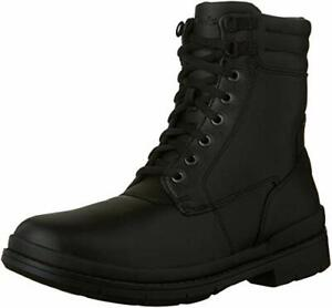 Clarks Men's Kimball Rise Black Leather High Top Winter Boots 26120951