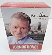The Foundations Curriculum Set Ken Ham Leaders & Students 6 DVD SET