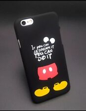 Disney Mickey Quote Phone Case For iPhone 7 Plus. Gel/silicone. Xmas