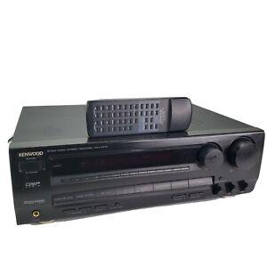 Kenwood KR-V7070 Audio Video Stereo 5.1 Channel Receiver Bundle w/ Remote Tested