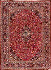 Vintage Floral Ardakan Oriental Area Rug Wool Hand-Knotted Medallion Carpet 8x11