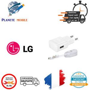 Chargeur rapide 5V 2A + Câble USB pour LG / Google - Nexus 5X