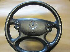 Lederlenkrad Lenkrad Leder Mercedes W211 W 211 Schaltwippen MOPF Sport komplett