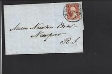 NEW YORK,NEW YORK, 1851, #10, S.O.N. CANCEL.