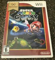 Super Mario Galaxy - Nintendo Wii 2007 - Complete w/ Manual - Clean & Tested