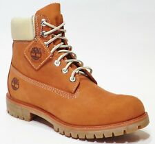 e98f000ac3d6b Timberland Men's Premium 6 inch Leather Boots Orange Thanksgiving Dinner  A1OOD