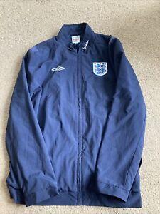 England Football Coat Jacket Size Large L Umbro Vauxhall