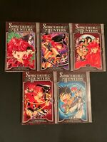 Sorcerer Hunters VOl 1-5 Tokyopop VF RARE Manga Out Of Print