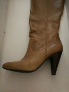 Jessica Simpson Leather Boots - Good Condition