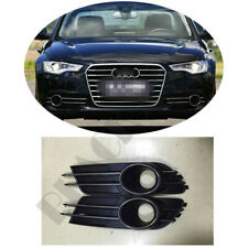 Front Fog /Driving Lamps Cover W/Strip For Audi A6 C7 2013 2014 2015 High Match