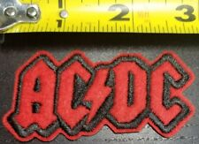 ACDC Rock & Roll 3 inch Iron/Sew On Patch~FREE SHIPPING FROM THE U.S.~