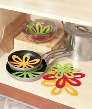 14 Colorful Felt Pan Separators or as Counter Protectors.Avoid scratches