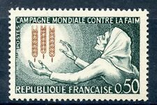 STAMP / TIMBRE FRANCE NEUF LUXE °° N° 1379 ** CAMPAGNE MONDIALE CONTRE LA FAIM