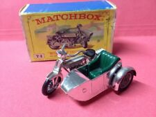 Matchbox Y-8 Sunbeam Motorcycle With Side Car  In Original Schachtel kein Repro