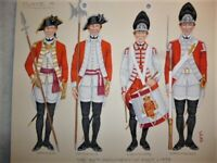 Original Military Watercolour, 32nd Foot, Cornwall Regiment, #4, Charles Stadden