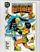 Adventures Of The Outsiders #46 Jun 1987 DC Comic.#133103D*5