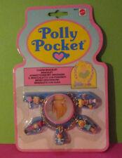 Polly Pocket Mini NEU ♥ Goldenes Arm Kettchen ♥ Charm Bracelet ♥ 1992 ♥ OVP NEW