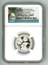 2018 S SILVER QUARTER 25C PICTURED PROOF NGC PF 69 ULTRA CAMEO FR 4817428-036