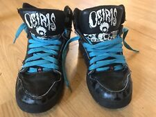 Osiris Lucky 13 Skate Shoes Sneakers Men's Size 6 Skulls NYC 83