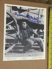 Russ Tamblyn signed AUTOGRAPH    Cimarron