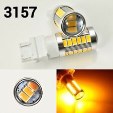 Front Turn Signal Parking T25 3057 3157 4157 33 SMD Amber LED Light Bulb K1 HA
