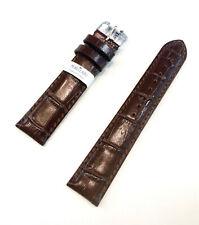 cinturino orologio Morellato in pelle imbottito marrone stampa cocco 14 18 20 22