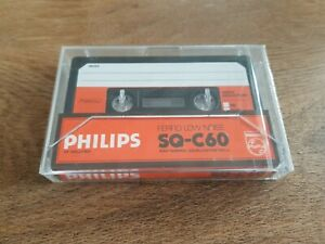 Philips SQ  Studio Quality 60 Cassette Tape (Sealed)