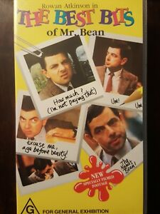 The Best Bits Of Mr Bean  VHS Video Tape