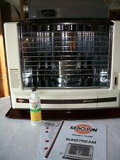 KERO-SUN SUNSTREAM w/FAN (Radiant 36,10)Kerosene Heater 9600 BTU, * EXTRAS *  LN