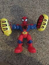 1/2 Price ...Boxing Glove Spiderman - talking and twists - kapow - used - works