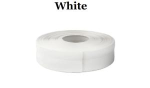 White  SKIRTING BOARD PVC FLEXIBLE - SELF ADHESIVE PVC 15m linear metres