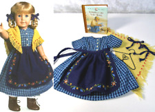 American Girl KIRSTEN CHECKED TRAIL DRESS APRON OUTFIT Pleasant Company Clothes!