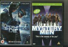 ALL SUPERHEROES MUST DIE (2011) & MYSTERY MEN (1999) TWO SUPERHERO FILMS