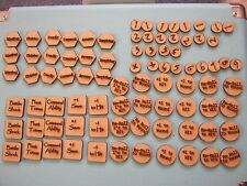 70+ MDF Tokens Suitable for Warhammer Age of Sigmar Wounds Spells Magic Effects