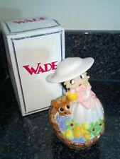 Wade Betty Boop  Springtime Figure Figurine with her dog Pudgy boxed Limited