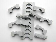 Lego Arche 1x4 x20 pièces # Light Gris Pierre # Pont Fenêtre Mur Château