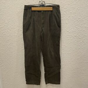 Vintage 90's Polo Ralph Lauren Andrew Corduroy Pants 36x32 Actual 34x31 College