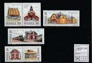 Zweden postfris 1996 MNH 1937-1942 - Gebouwen
