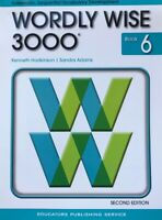 Wordly Wise 3000 2nd Edition: Wordly Wise 3000 Book 6