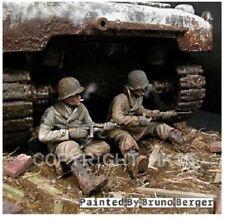 1/35 Escala Kit de modelo de resina Segunda Guerra Mundial US GI del Ardenas 1944-45