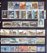 AUSTRALIA 1970s seven full sets used