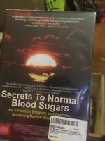 Dr. Bernstein's Secrets to Normal Blood Sugars For Type 1 Diabetes (B15A) dvd