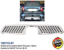 Diffuser for SMART ForTwo 450 s/steel T304 plasma cut rear grill 0.6-0.7L turbo