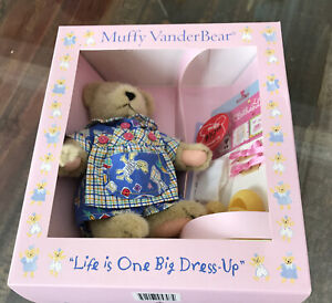 Muffy Vanderbear ~ Life is one big Dress up Bear and Outfit - New in Box (B)