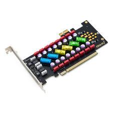 Elfidelity PC HIFI Power Filter Card PCI/PCI Express X1 X16 Audio Power Purifier
