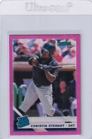 2019 DONRUSS PINK HOLO RC CHRISTIN STEWART TIGERS RATED ROOKIE PARALLELS E6799