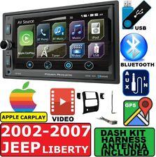 2004-10 PT CRUISER DURANGO GRAND CHEROKEE GPS APPLE CARPLAY CAR STEREO PACKAGE