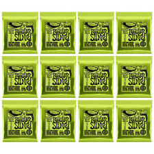 Ernie Ball Regular Slinky 2221 10-46 Nickel Wound Guitar Strings 12 Sets Pack
