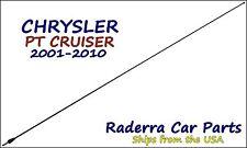 """2001-2010 Chrysler PT Cruiser - 32"""" Black Stainless AM FM Antenna Mast"""