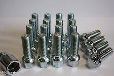 M14 X 1.5 40MM RADIUS ALLOY WHEEL BOLTS & LOCKING FIT AUDI Q3 SQ5 Q5 Q7